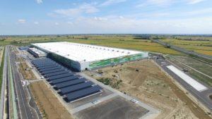 Vista aerea 3 - Vercelli LCP   SQM Real Estate miglior agenzia immobiliare per aziende industria terreni logistica sviluppo immobiliare