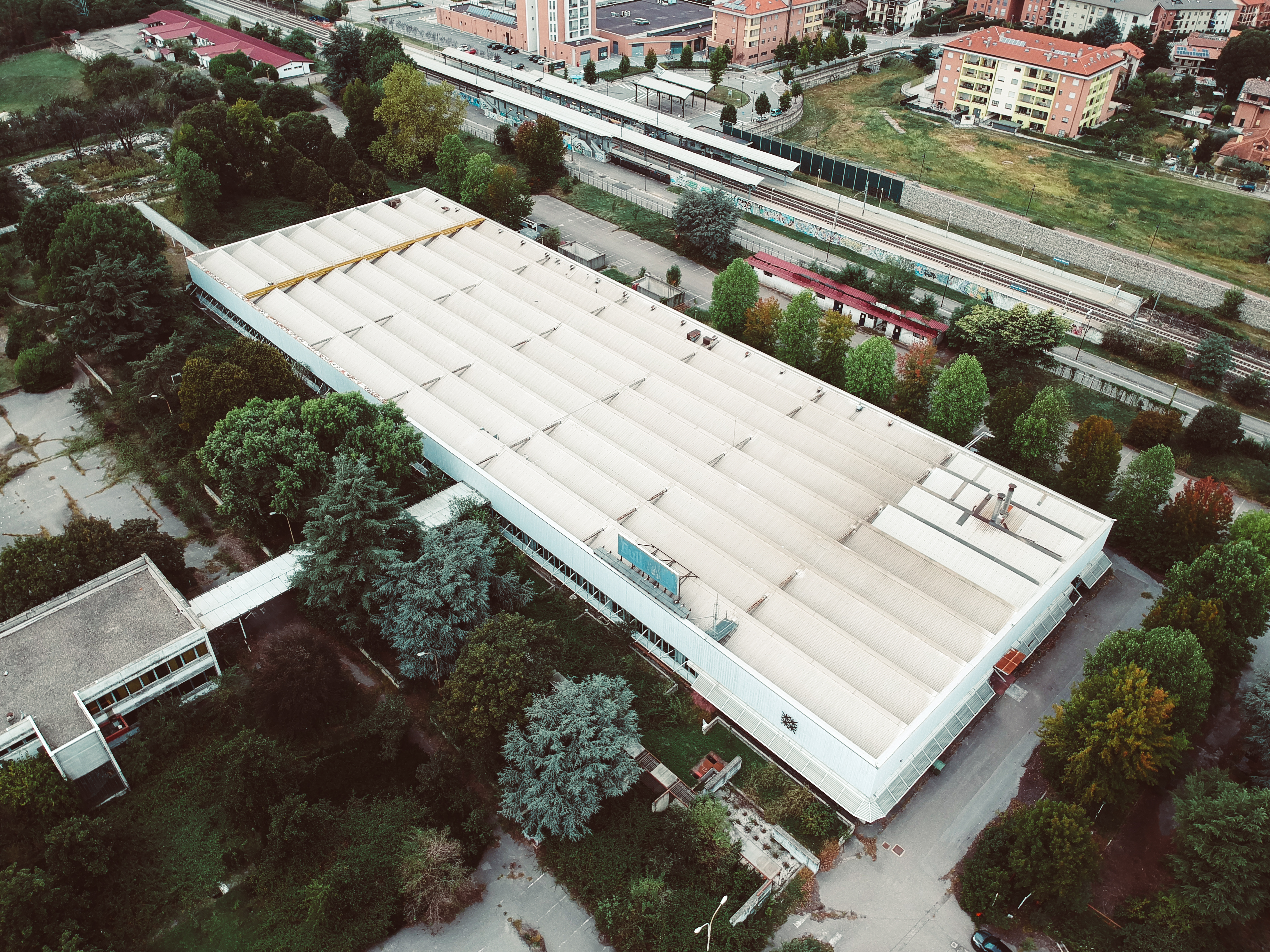 Vista esterna dell'area - SQM Real Estate - Area Pregnana Milanese ex Olivetti Bull Italia - Sviluppo riqualificazione immobile industriale