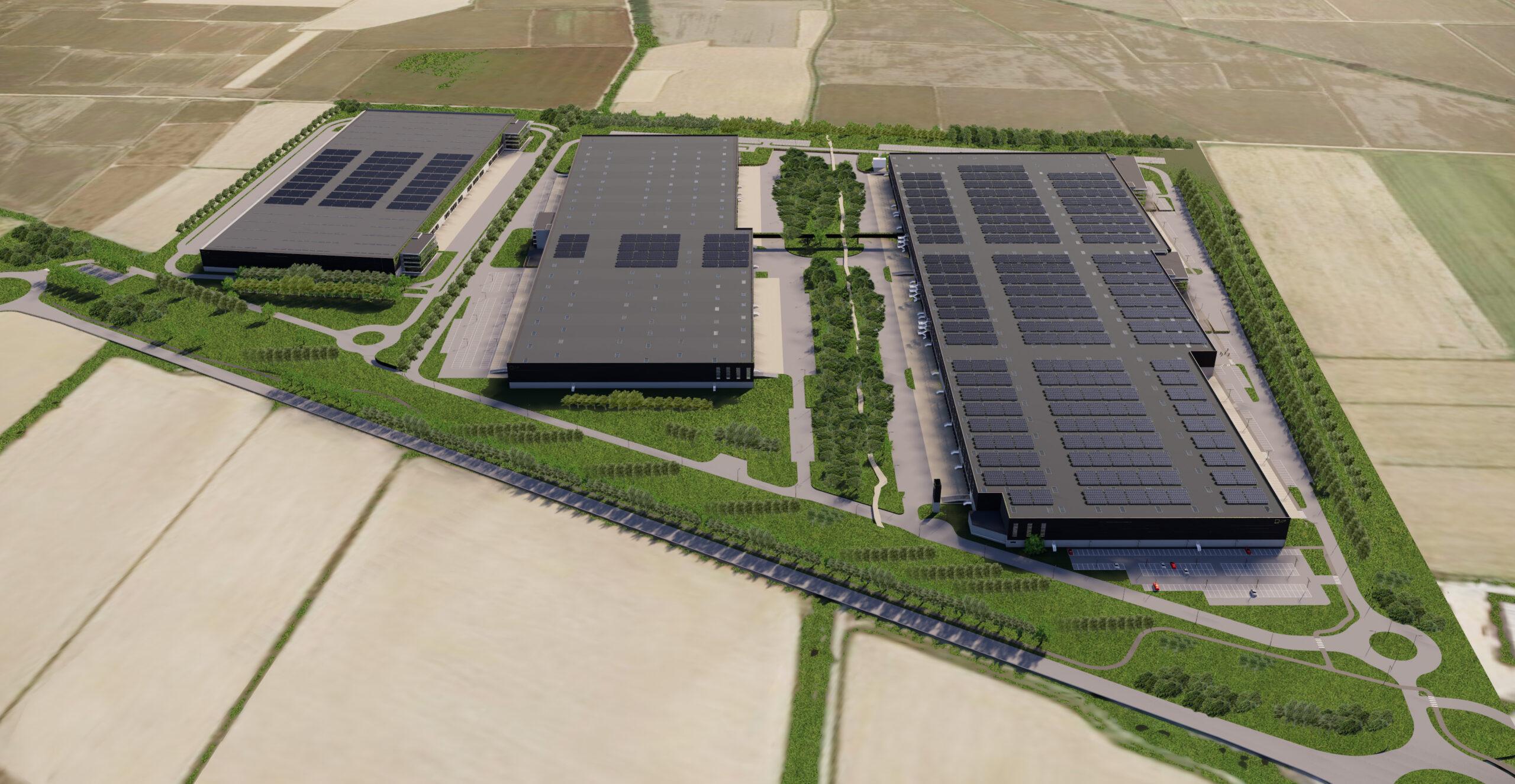 LCP Vista Aerea_02 - Trecate XXL logistic park LCP | SQM Real Estate miglior agenzia immobiliare per aziende industria terreni logistica sviluppo immobiliare