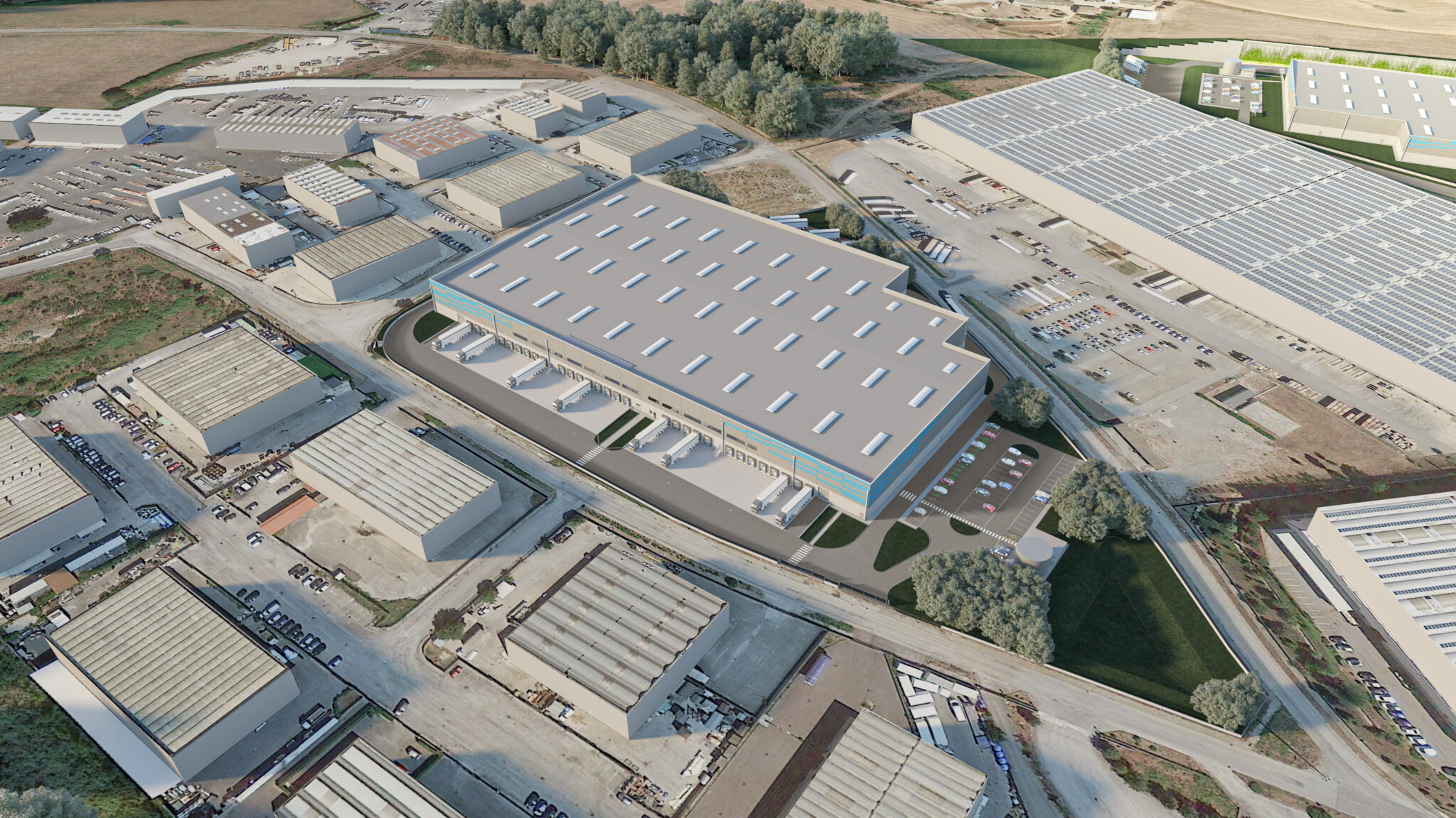 Colleferro - Capannoni logistici, magazzini, deposito industriale, su misura a Roma - SQM Real Estate