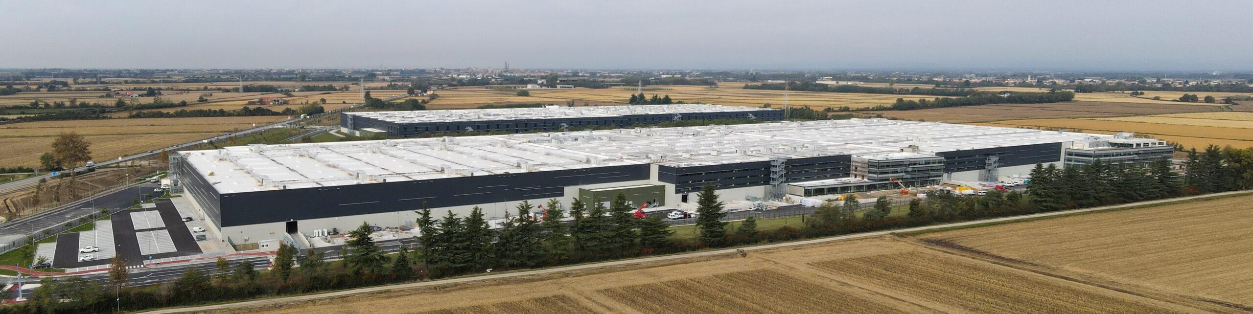 Vista aerea 3 - Trecate XXL logistic park LCP | SQM Real Estate miglior agenzia immobiliare per aziende industria terreni logistica sviluppo immobiliare