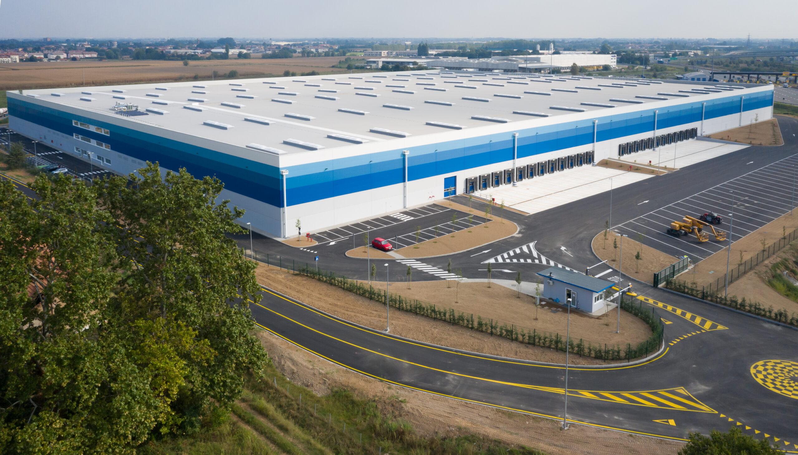 Vista aerea 2 - CARLYLE Mesero | SQM Real Estate miglior agenzia immobiliare per aziende industria terreni logistica sviluppo immobiliare