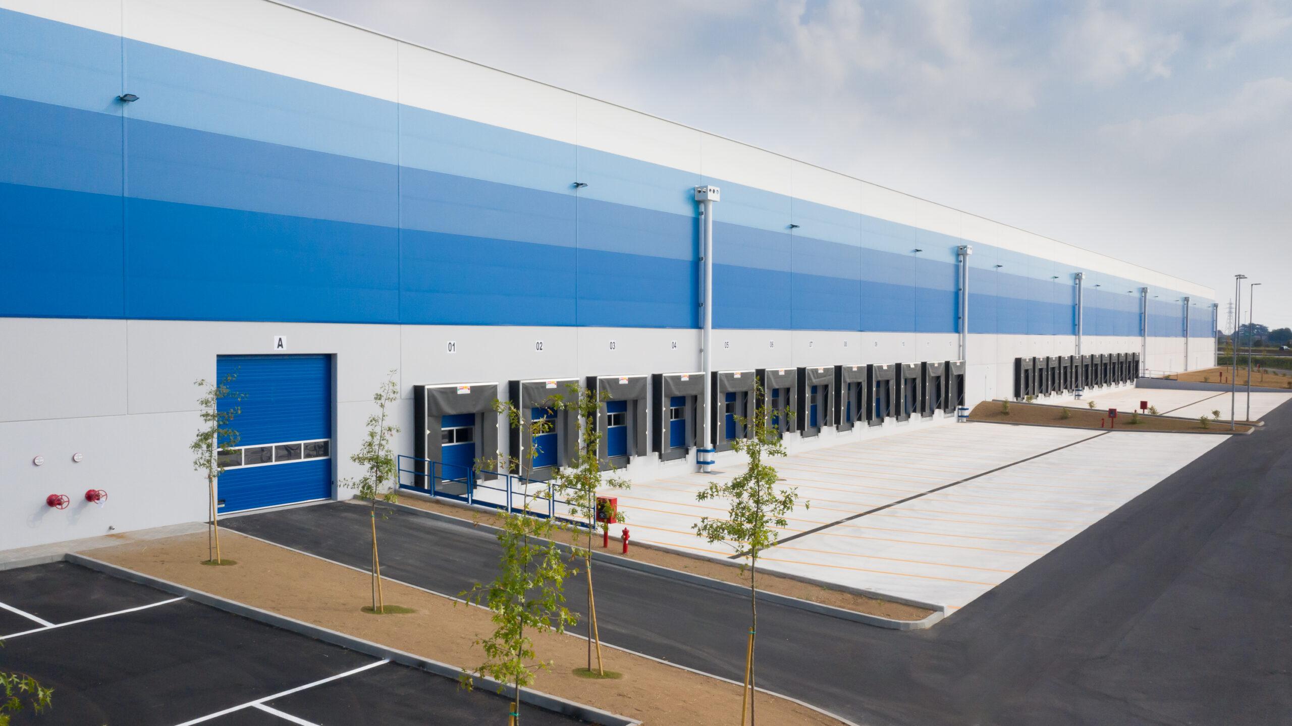 Vista bocche di carico - CARLYLE Mesero | SQM Real Estate miglior agenzia immobiliare per aziende industria terreni logistica sviluppo immobiliare