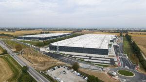 Vista aerea 2 - Trecate XXL logistic park LCP   SQM Real Estate miglior agenzia immobiliare per aziende industria terreni logistica sviluppo immobiliare