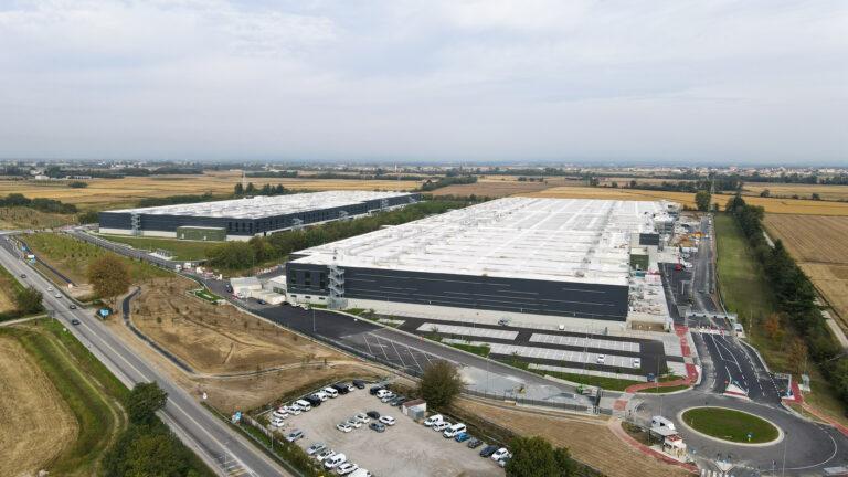 Vista aerea 2 - Trecate XXL logistic park LCP | SQM Real Estate miglior agenzia immobiliare per aziende industria terreni logistica sviluppo immobiliare